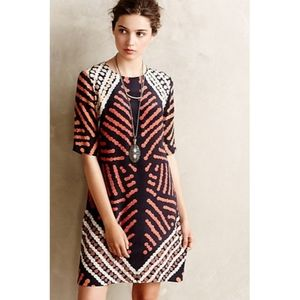 Anthro   Roopa Pemmaraju Petra Silk Shift Dress 10